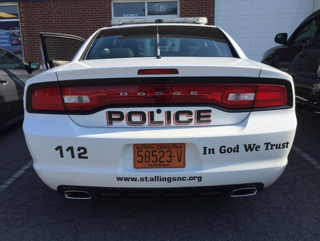 'In God We Trust' A New Trend In Law Enforcement