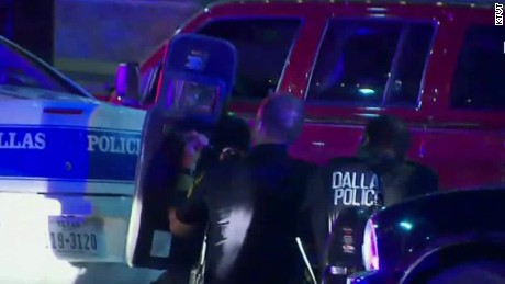 5 Dallas Area Officers Dead, 6 Others Shot In Dallas Protest