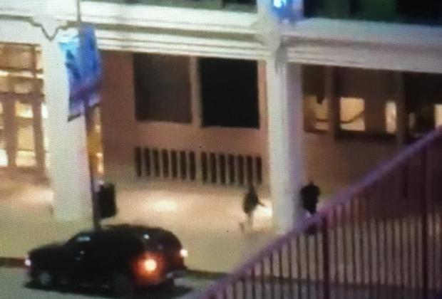 Horrific Video: Gunman Shoots Officer During Dallas Attack