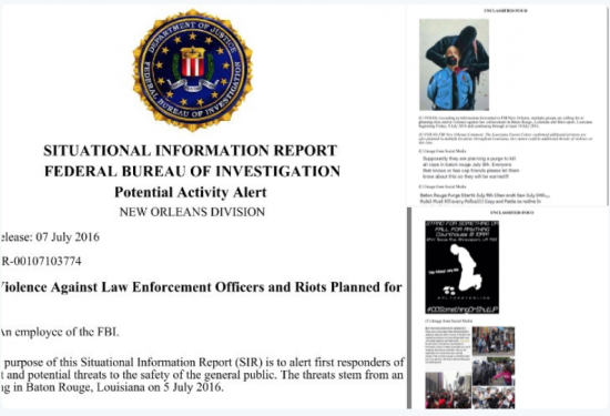 FBI Warning:  'Purges' Of Police Officers