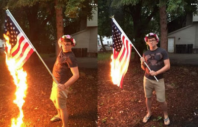 Man Charged With Desecrating American Flag After Facebook Posts