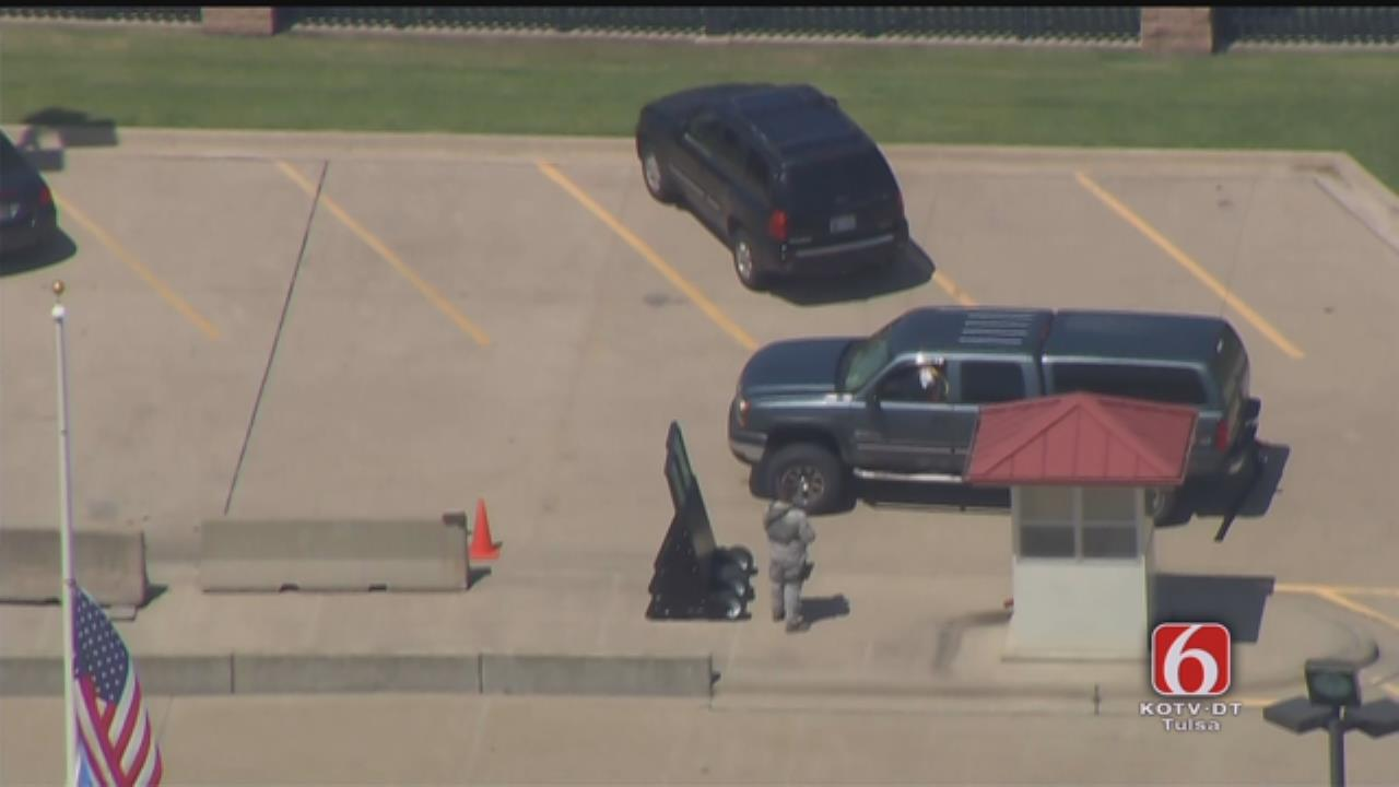 Police Standoff At Air National Guard Base