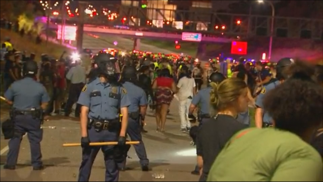 Officer Suffers Spinal Fracture When Rioters Dropped Concrete On His Head
