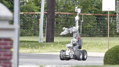 Dallas Police Used Bomb With A Robot To Kill The Suspect