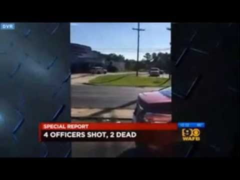 Watch Initial Shots Fired At Baton Rouge Officers