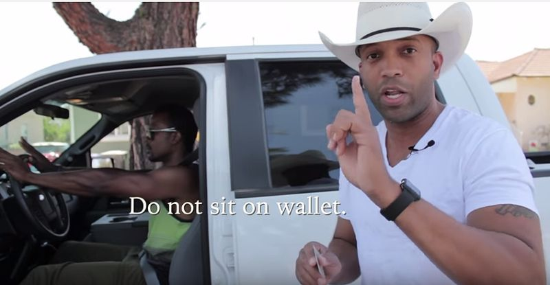 Watch Country Music Singer Give Advice On How To Act On A Traffic Stop