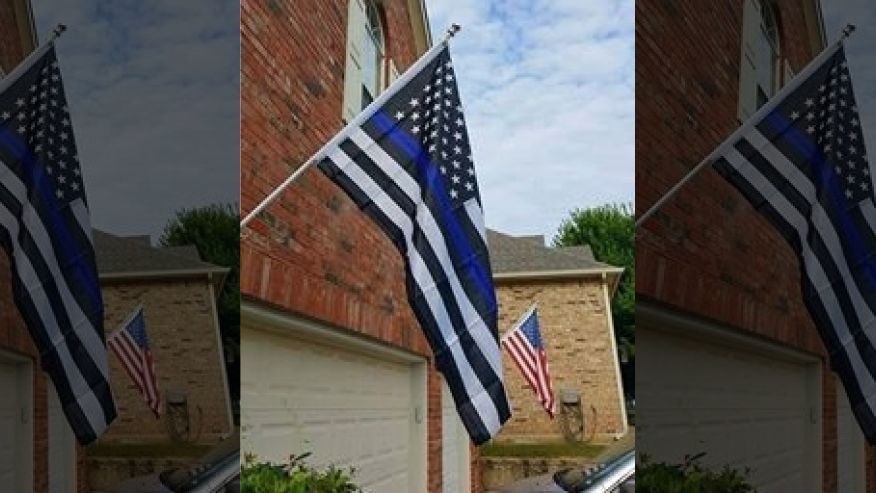 "Homeowner Told To Remove ""Noxious and Offensive"" Pro-Police Flag"