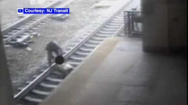 Transit Officer Saves Man From Oncoming Train