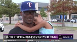 Little Girl Cries During Traffic Stop Because She's Afraid of Police — Here's How The Officer Responded