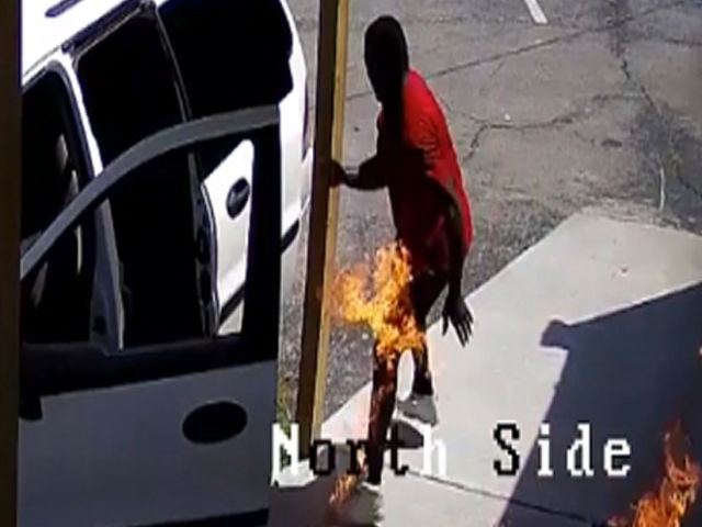Watch: An Arsonist Catch Himself On Fire