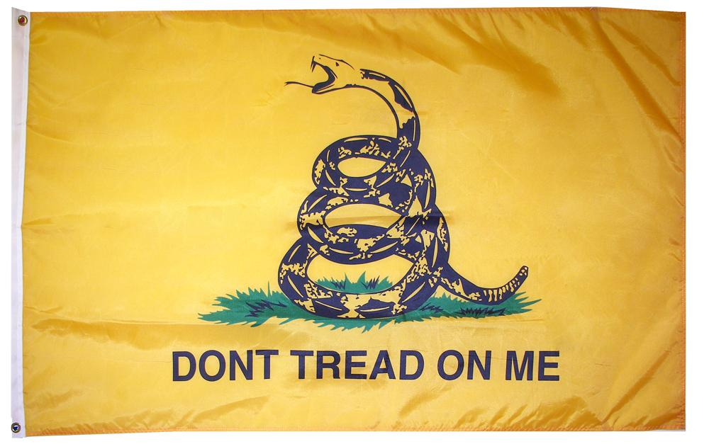 Wearing 'Don't Tread on Me' Insignia Deemed Racial Harassment