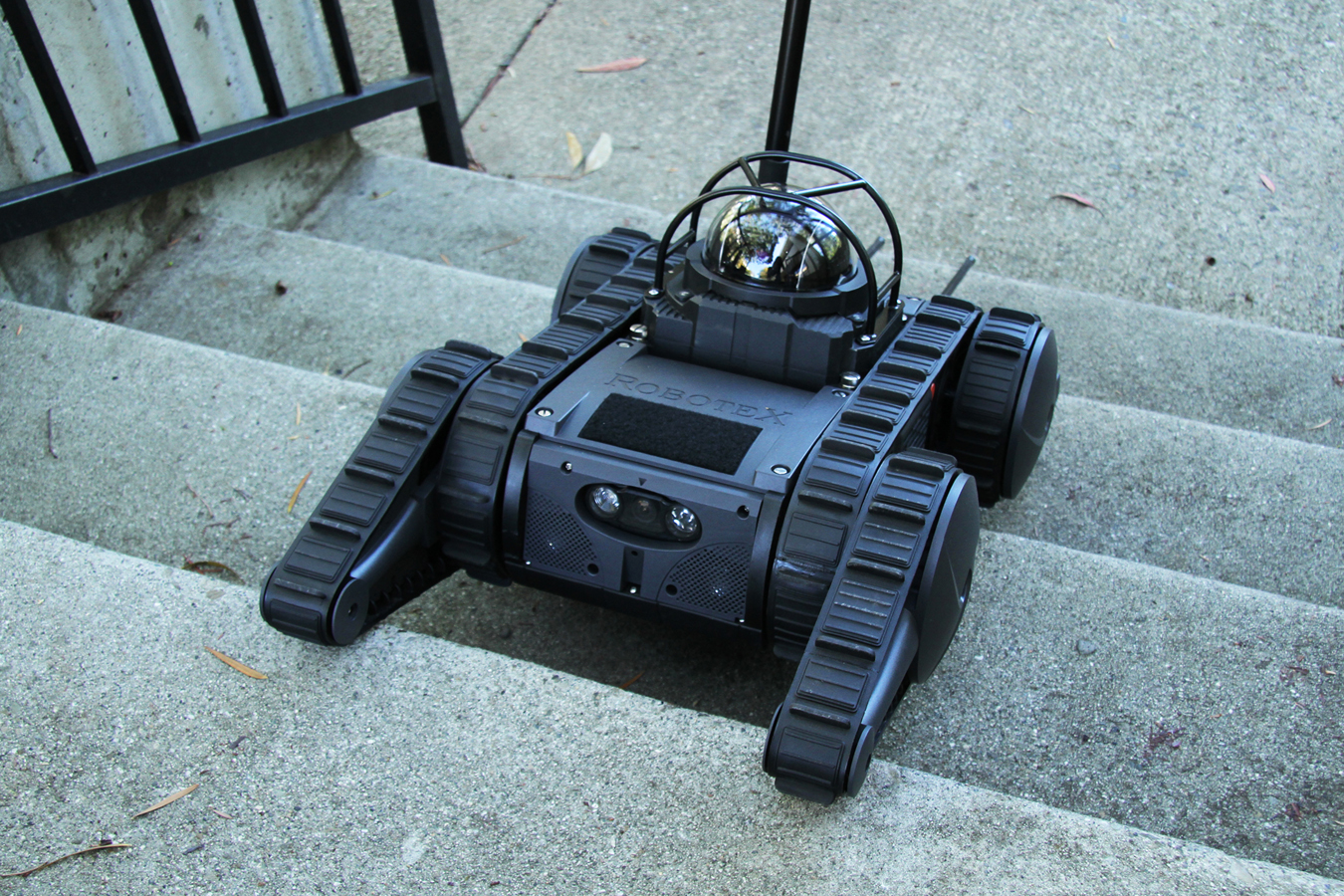 Police Robots Becoming Common Tools For Agencies