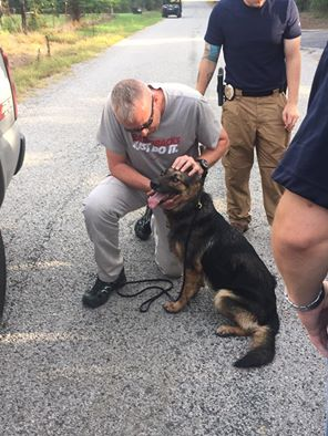 Missing Arkansas K9 Found, Shot Twice