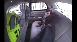 Watch: Prisoner Is Ejected Out Of Police Car In Wreck