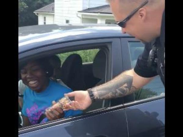 Watch Virginia Agency Give Away Ice Cream On Traffic Stops