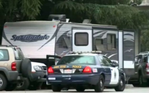 Cops Living In RV's Outside San Jose Police Department