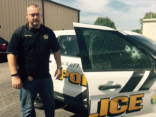 Police Chief Returns To Work 2 Days After Deadly Shooting