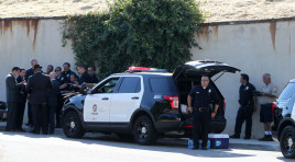 Standoff Between LAPD and Chris Brown Ends, Drugs and Guns Found