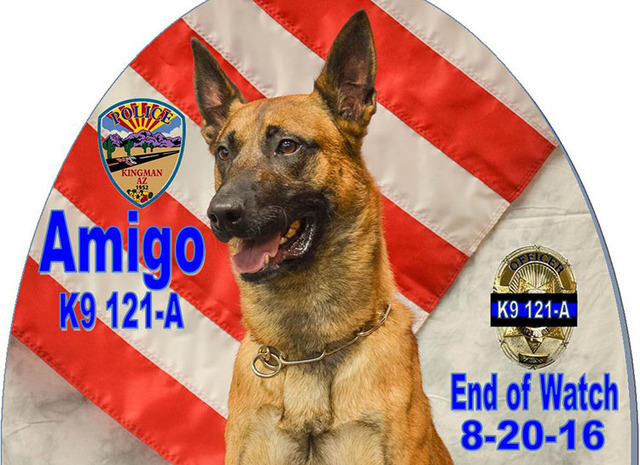Arizona Police K9 Dies In The Line Of Duty After Rescuing Hikers