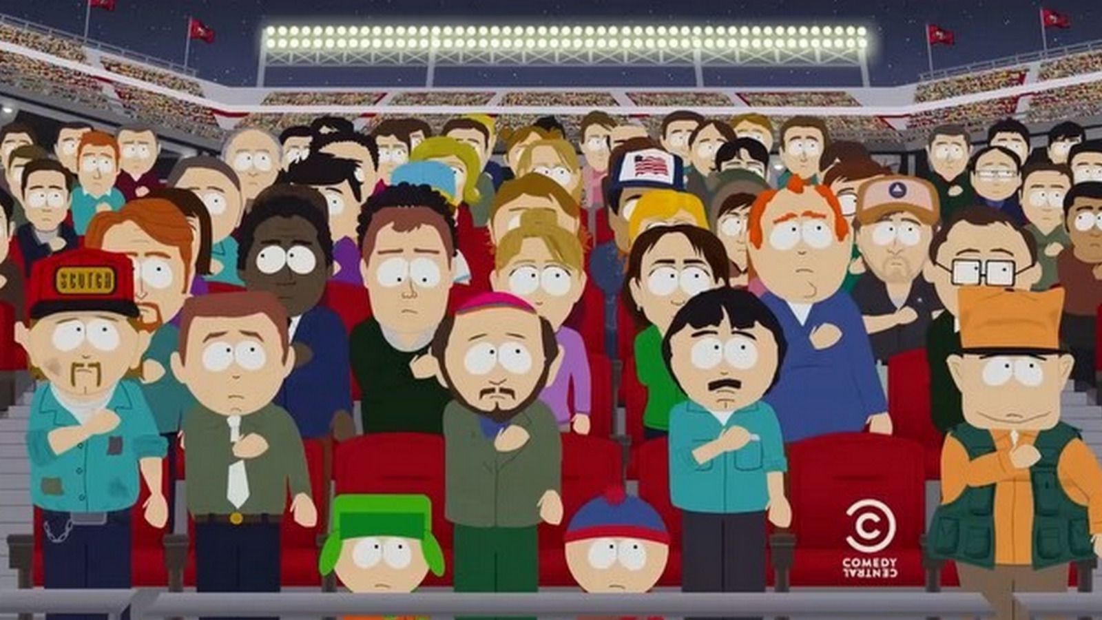 South Park Launches New Season With National Anthem Theme