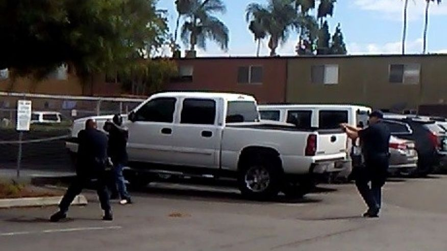 El Cajon Police Release Video Of Officer Involved Shooting