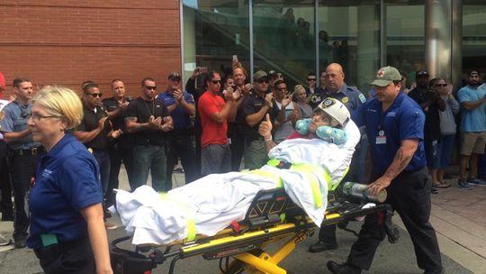 Atlantic City Police Officer Shot In Head Leaves Hopital