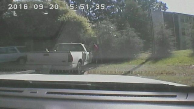 Charlotte Dash-Cam Footage Released