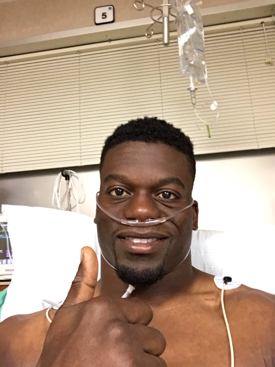 'I Stand': NFL Star Ben Watson Vows From Hospital Bed To Honor National Anthem