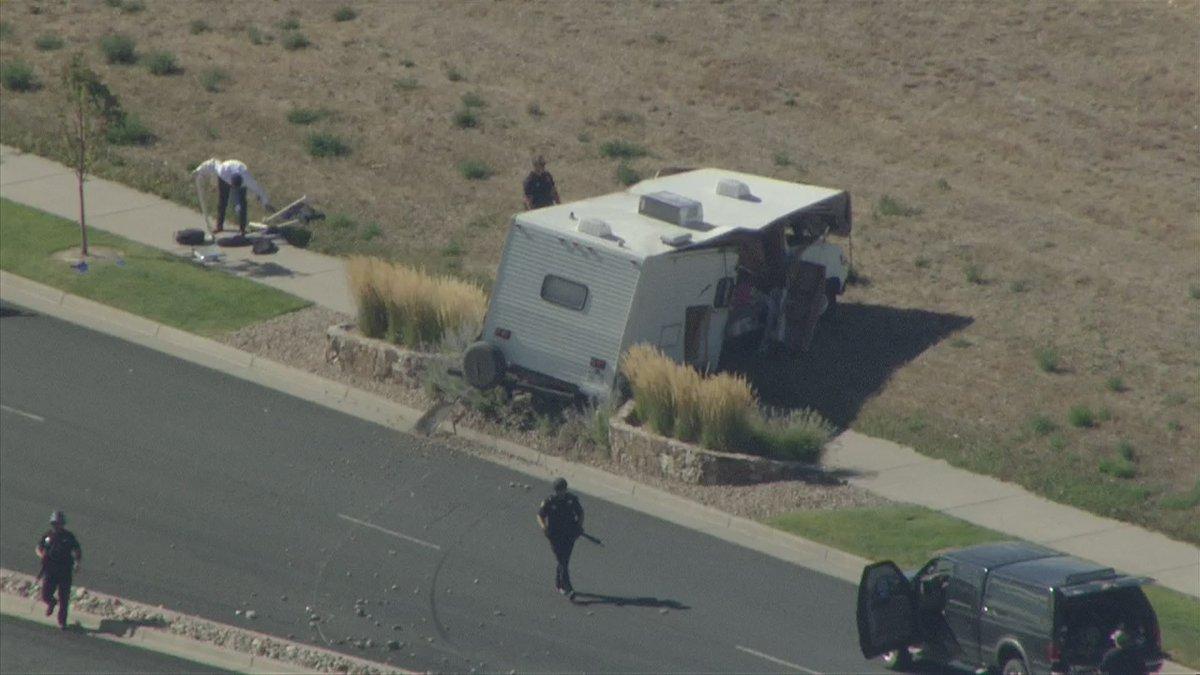 Colorado Deputy Critical, Suspect Dead In Shooting