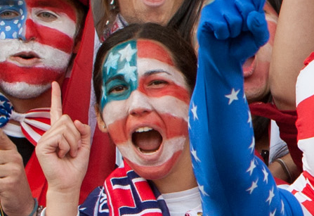 """Football Conference Bans Chanting Of """"USA"""" By Fans"""