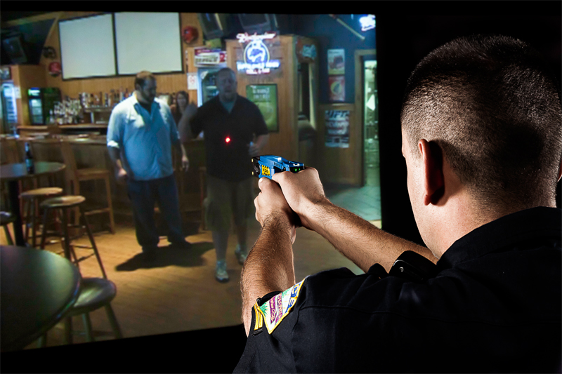 Firearm Training Simulator Deemed Racist