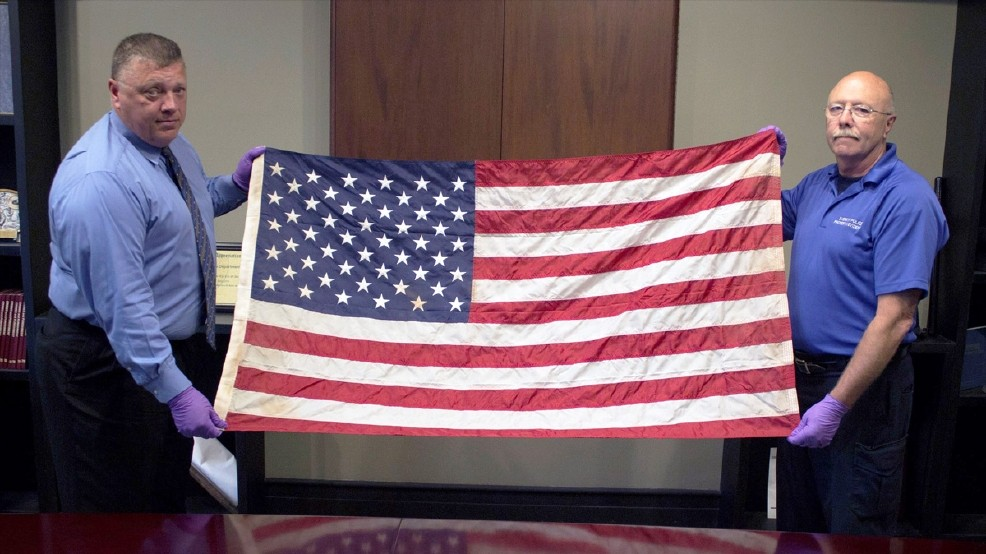 How a Washington Police Department Found the 9/11 Flag From Ground Zero