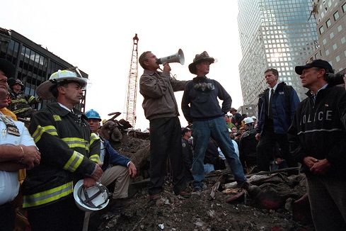 Remember 9/11:  'The People Who Knocked These Buildings Down Will Hear All Of Us Soon'