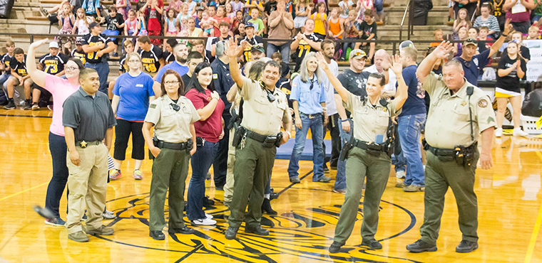 School Honors Law Enforcement In 'Hero Day' Events
