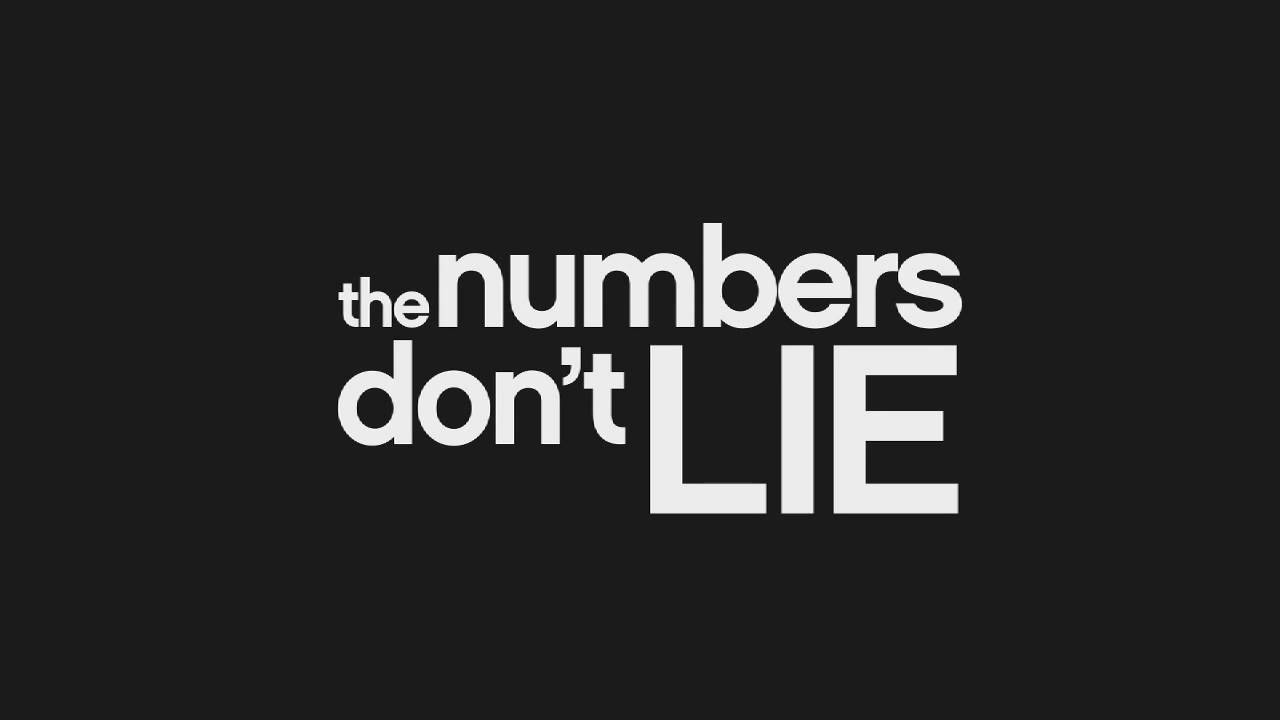 Hey Kaepernick:  'Numbers….Don't….Lie'