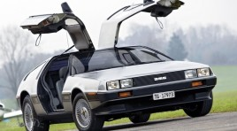 Carjacker Steals DeLorean and Crashes After Pursuit