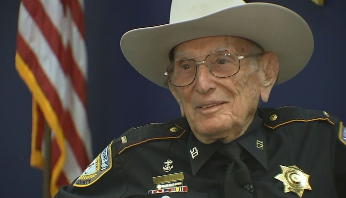 Reserve Officer, 96, Has No Plans To Retire