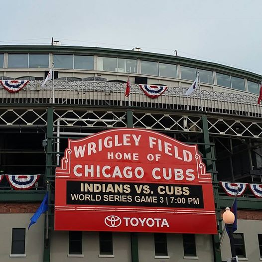 Chicago Police Cancel Days Off To Prepare For World Series Crowds