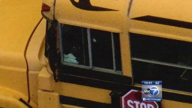 Chicago School Bus Driver Shot