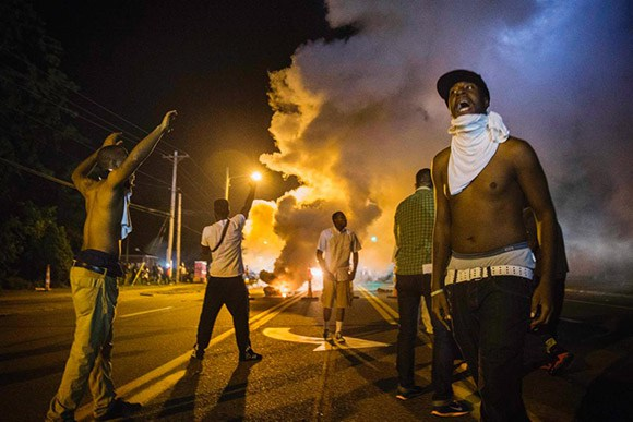 Crime Spikes In Ferguson To Twice The National Average