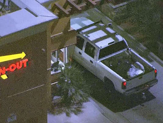 Suspect In Police Pursuit Stops At In-N-Out Drive-Thru