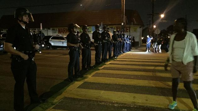 LAPD Issues Citywide Tactical Alert After Protests Erupt