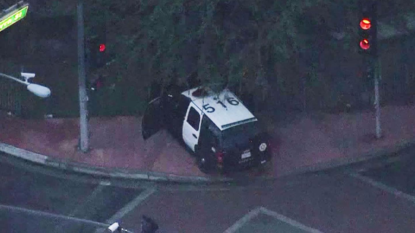 L.A. County Sergeant Dies In Crash Responding To Stolen Vehicle Pursuit