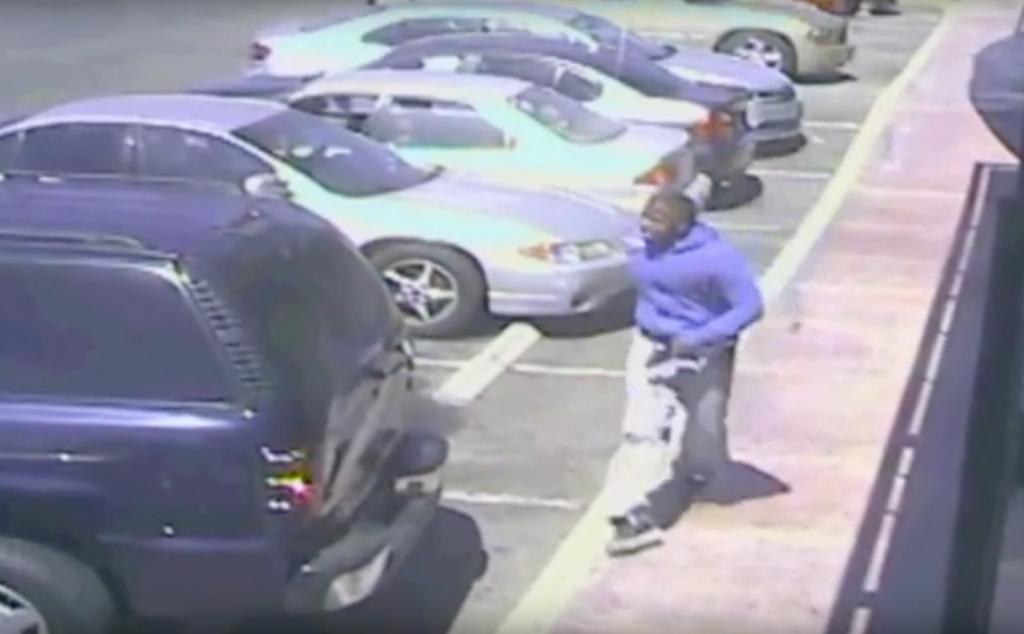 Watch LAPD Video Showing Suspect With A Gun