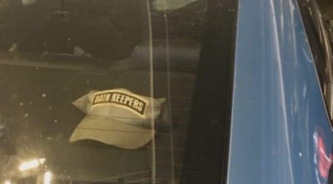 Maryland Police Officer Suspended For Displaying 'Oath Keepers' Hat In Cruiser