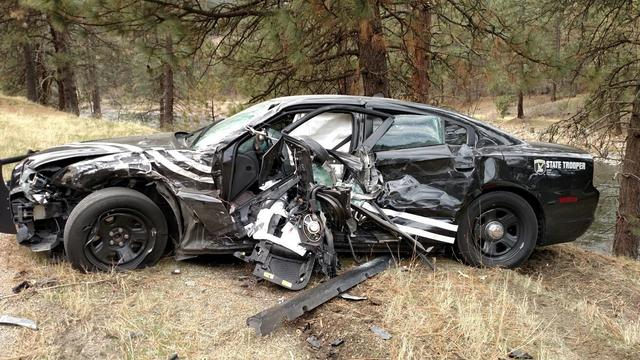 Idaho Trooper Struck While Escorting National Christmas Tree