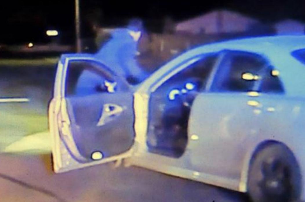 Suspect Runover By His Stolen Car