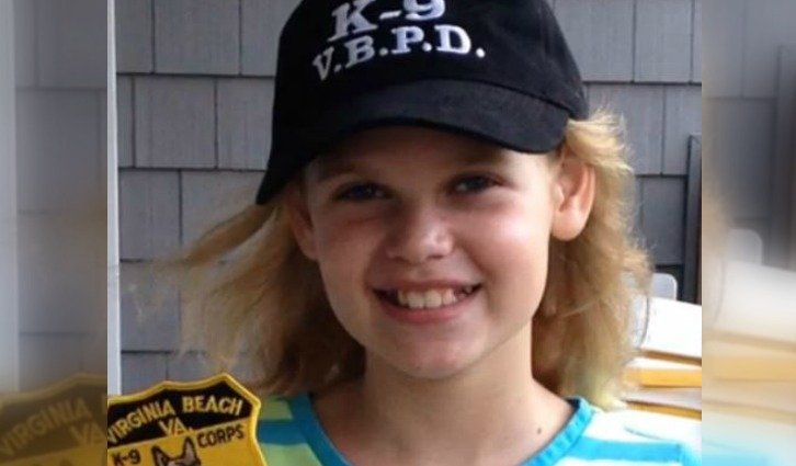 10-Year-Old Girl Says No to Birthday Party, Buys K-9 Vest Instead