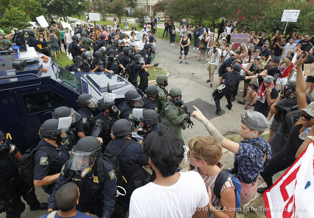 $1.6M Overtime Pay for Police, Sheriff Response to Police Protests in Baton Rouge