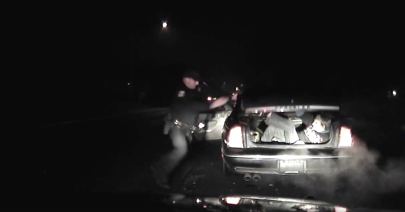 Watch Attempted Ambush Of An Officer